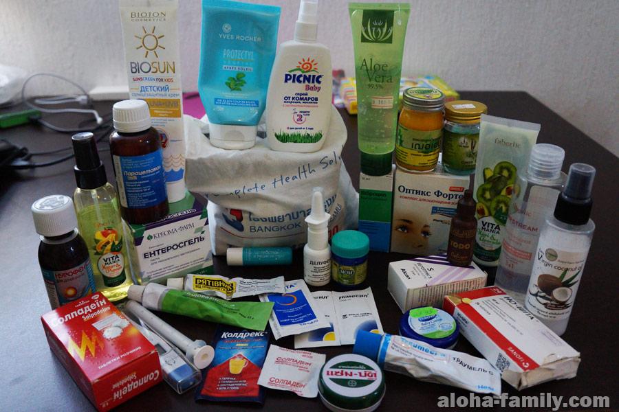 Наша аптечка для Мексики