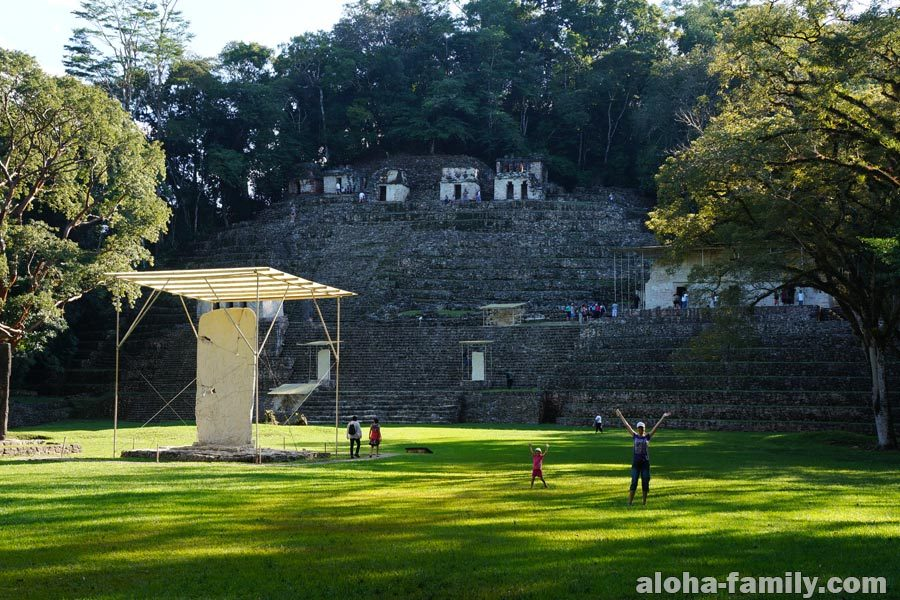 Пирамиды Бонампак, штат Чиапас, Мексика