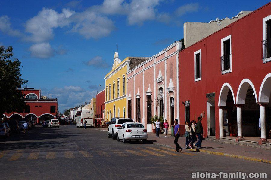 Вальядолид - небольшой городок в мексиканском штате Юкатан