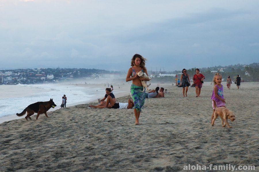 Playa Zicatela - рай для сёрферов в Мексике