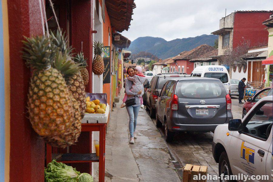 Сан Кристобаль - красивый инстаграмный городок в горах центральной Мексики