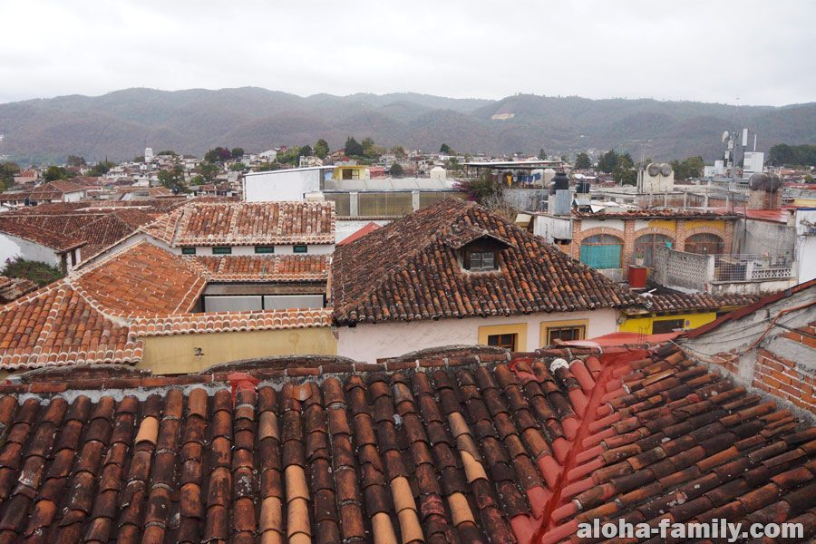 Сан Кристобаль - наш вид из окна