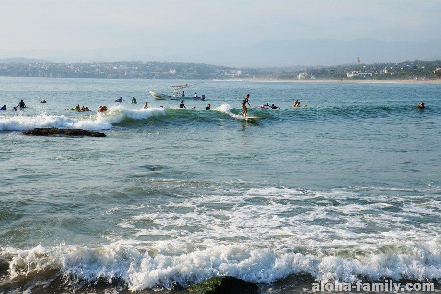 Сёрфинг в Пуэрто Эскондидо